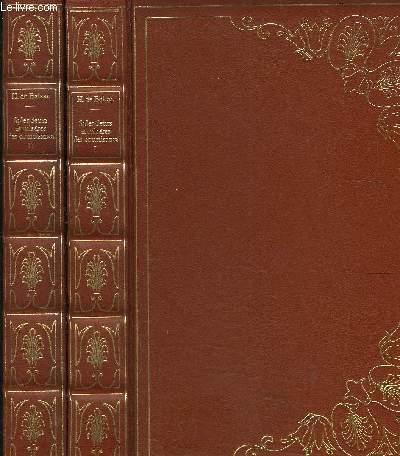SPLENDEURS ET MISERES DES COURTISANES- 2 TOMES EN 2 VOLUMES