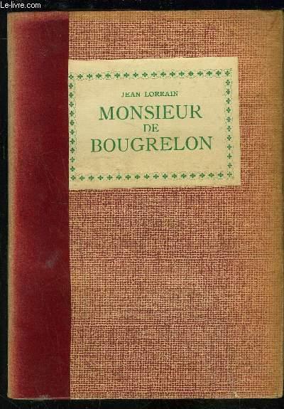 MONSIEUR DE BOUGRELON- LA DAME TURQUE- SONYEUSE