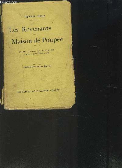 LES REVENANTS- MAISON DE POUPEE