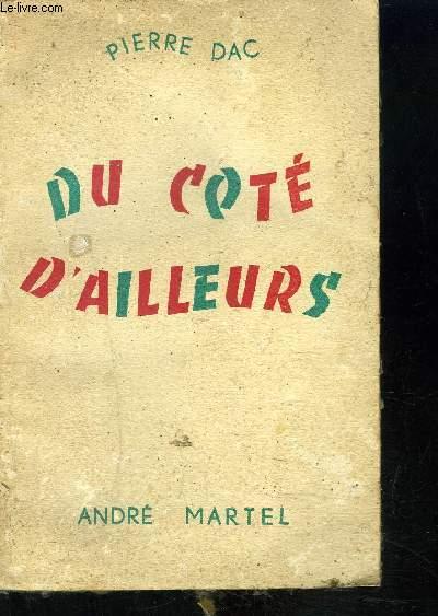 DU COTE D AILLEURS