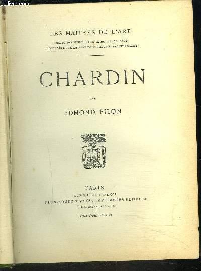 CHARDIN- COLLECTION LES MAITRES DE L ART
