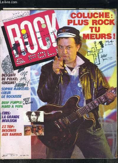 ROCK & FOLK- N°226- JANVIER 86- COLUCHE PLUS ROCK TU MEURS!- DESCENTE DE POLICE: CENSURE!- SOPHIE MARCEAU: COEUR DE ROCKEUSE- DEEP PURPLE: HARD A PAPA- CURE: LA GRANDE INVASION- ZZ TOP: DESCENTE AUX BARBUS