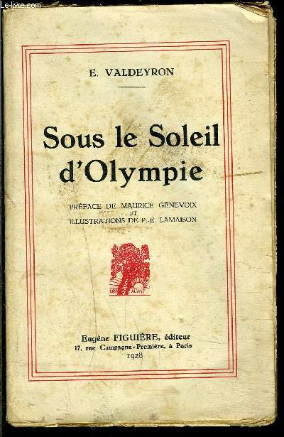 SOUS LE SOLEIL D OLYMPIE