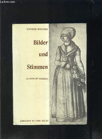BILDER UND STIMMEN- SECONDE ET PREMIERE- texte en allemand