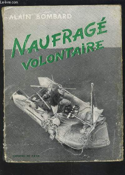 NAUFRAGE VOLONTAIRE- ENVOI DE L AUTEUR