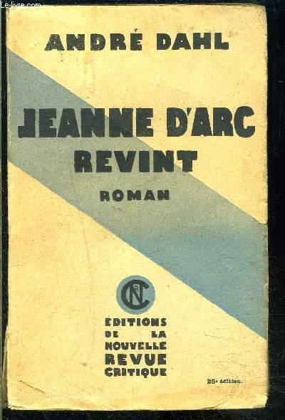 JEANNE D ARC REVINT