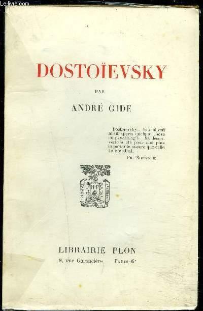 DOSTOIEVSKY- ARTICLES ET CAUSERIES