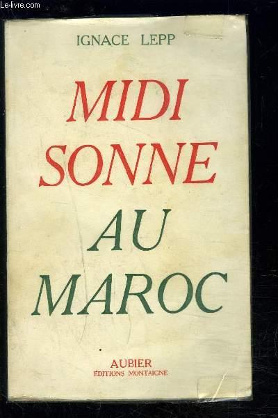 MIDI SONNE AU MAROC