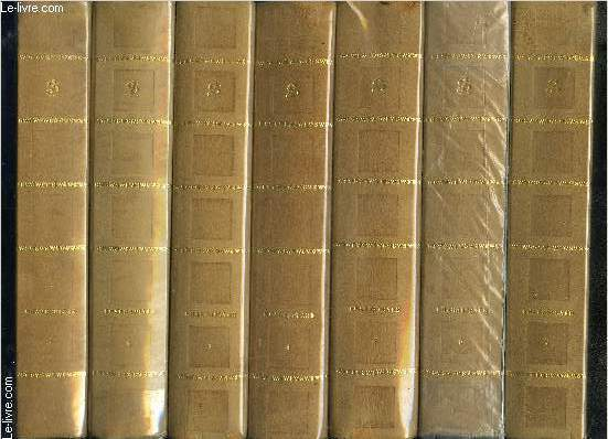 OEUVRES COMPLETES DE SHAKESPEARE- COMPLET: 7 TOMES EN 7 VOLUMES- TRADUCTION NOUVELLE accompagnée d'études, préfaces, notices, notes et glossaires