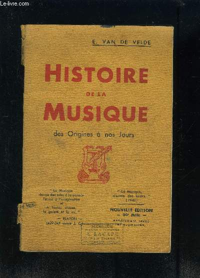 HISTOIRE DE LA MUSIQUE DES ORIGINES A NOS JOURS