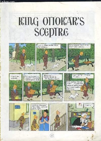 KING OTTOKAR S SCEPTRE- Texte en anglais