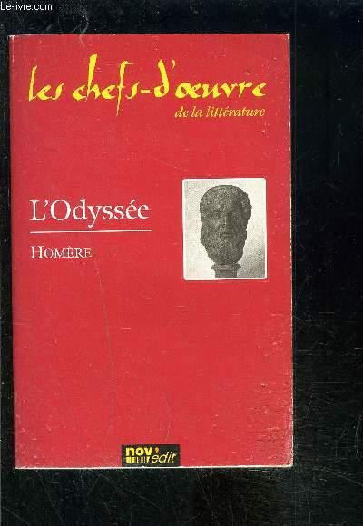 L ODYSSEE- COLLECTION LES CHEFS D OEUVRE DE LA LITTERATURE