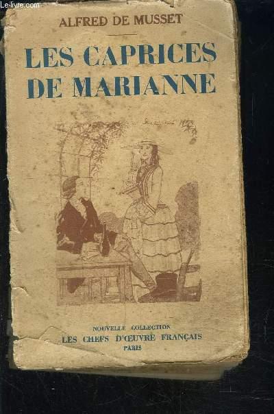 LES CAPRICES DE MARIANNE- LORENZACCIO- FANTASIO - COMEDIE EN 2 ACTES