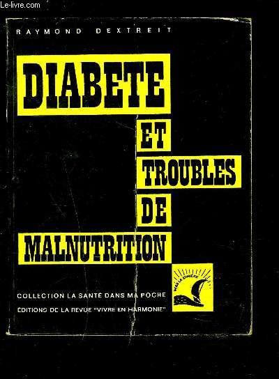 DIABETE ET TROUBLES DE MALNUTRITION