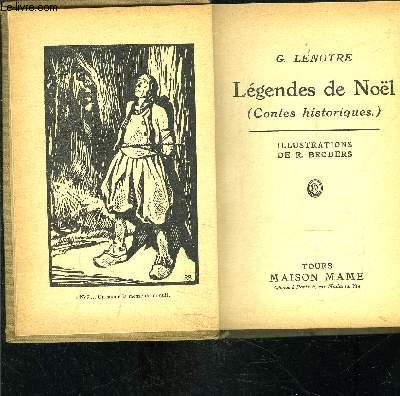 LEGENDES DE NOEL- Contes Historiques