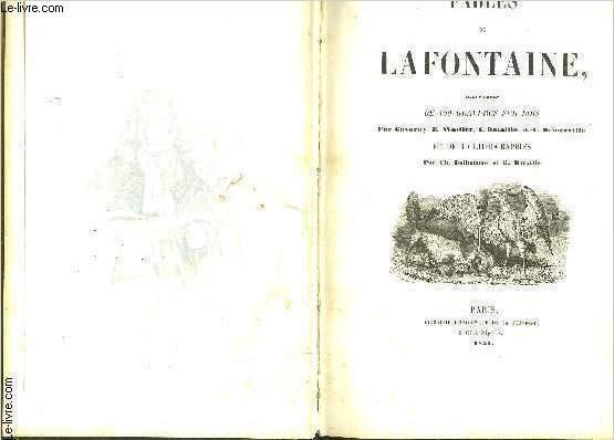 FABLES DE LAFONTAINE