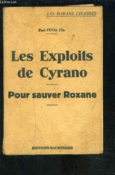 LES EXPLOITS DE CYRANO- POUR SAUVER ROXANE