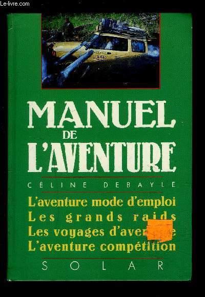 MANUEL DE L AVENTURE