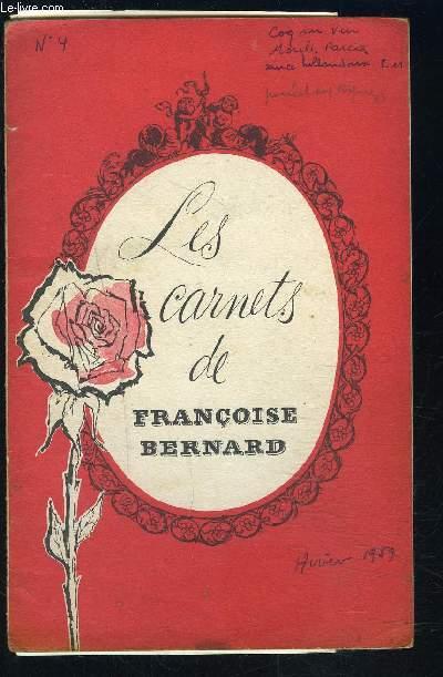 LES CARNETS DE FRANCOISE BERNARD- L'invité du petit Sapin- La bougie sculptée- Menus d'hiver...