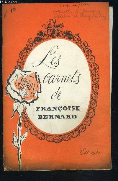 LES CARNETS DE FRANCOISE BERNARD- La Corse pays de traditions- Une semaine de menus d'été...