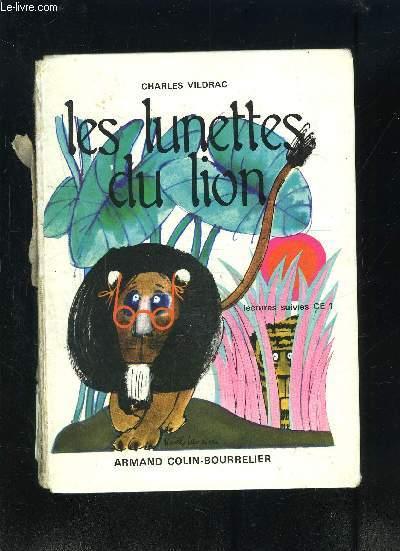 LES LUNETTES DU LION- LECTURES SUIVIES CE1