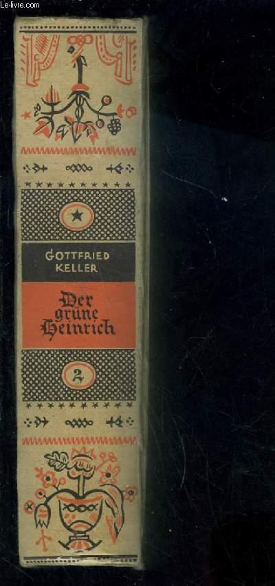 DER GRUNE HEINRICH- 2. Texte en allemand