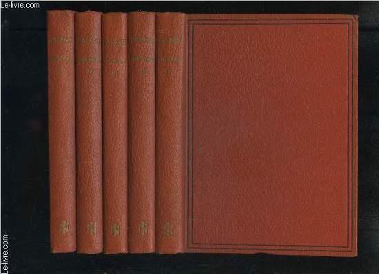 THEATRE DE RACINE- EN 5 VOLUMES- TOME 1 LA THEBAIDE OU LES FRERES ENNEMIS - ALEXANDRE LE GRAND / TOME 2 ANDROMAQUE - LES PLAIDEURS - BRITANNICUS / TOME 3 BERENICE - BAJAZET / TOME 4 IPHIGENIE - PHEDRE - ESTHER / TOME 5 ATHALIE - NOTES ET VARIANTES