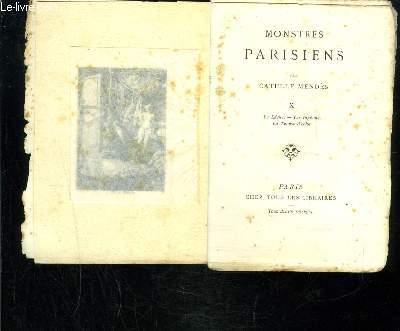 MONSTRES PARISIENS- X- LE LACHE- LES INGENUS- LA TUEUSE D ECHO
