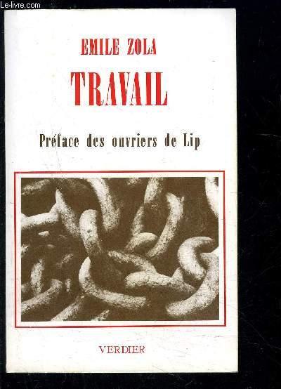 TRAVAIL- PREFACE DES OUVRIERS DE LIP