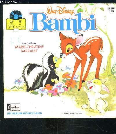 BAMBI- VENDU SANS LE 45Tours