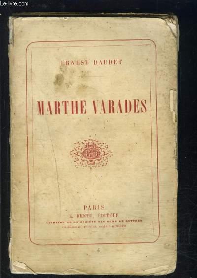 MARTHE VARADES