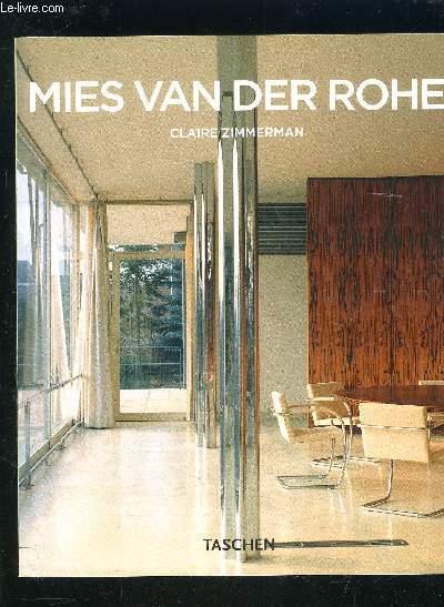 MIES VAN DER ROHE- 1886-1969- LA STRUTURE DE L ESPACE