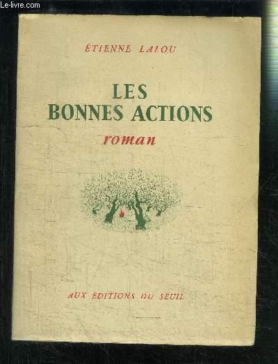 LES BONNES ACTIONS
