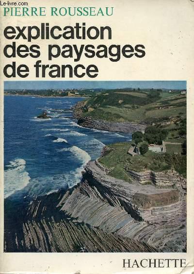 EXPLICATION DES PAYSAGES DE FRANCE