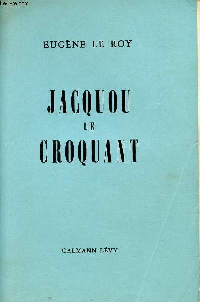 JACQUOU LE CROQUANT