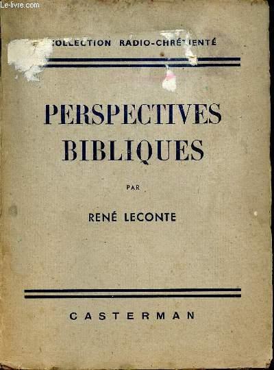 PERSPECTIVES BIBLIQUES