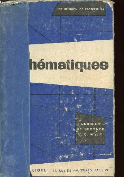 MATHEMATIQUES - CLASSES DE SECONDE A', C, M et M' / N°177 E