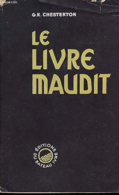 LE LIVRE MAUDIT