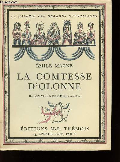 LA COMTESSE D'OLONNE (D'après des documents inédits)