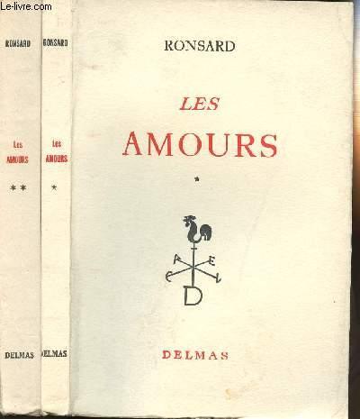 LES AMOURS - EN 2 VOLUMES (TOMES 1 + 2)