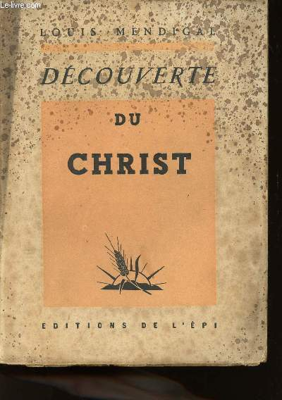 DECOUVERTE DE CHRIST