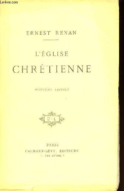 L'EGLISE CHRETIENNE