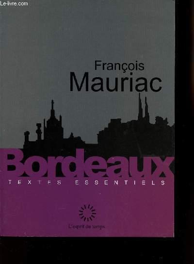 BORDEAUX TEXTES ESSENTIELS