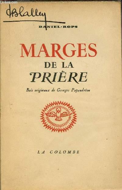 MARGES DE LA PRIERE - BOIS ORIGINAUX DE GEORGES PAPANDREOU