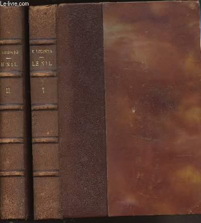 LE NIL VIE D'UN FLEUVE - EN 2 VOLUMES (TOME I + II)