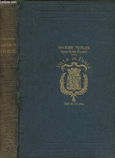 LES ENTRAILLES DE LA TERRE - REPUBLIQUE FRANCAISE - LIBERTE - EGALITE - FRATERNITE - VILLE DE PARIS - PRIX MUNICIPAL