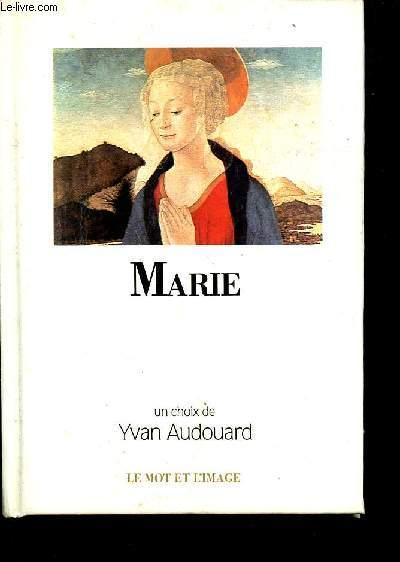 MARIE - LE MOT ET L'IMAGE