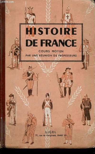 HISTOIRE DE FRANCE - COURS MOYEN