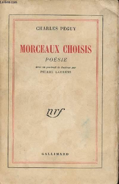 MORCEAUX CHOISIS POESIE