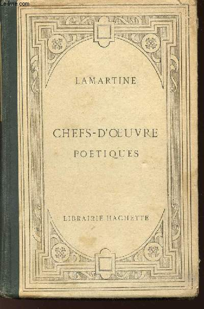 CHEFS-D'OEUVRE POETIQUES / 11EME EDITION